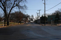 Jefferson Avenue from North 21st Street