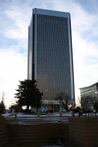 Federal Reserve Bank Tower, From Kanawha Plaza