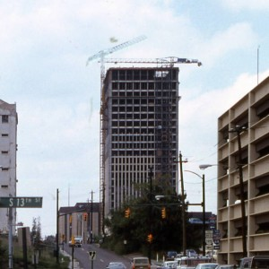 Under Construction (As the Virginia Power & Electric Headquarters) (Source: Richmond Planning Commission Photo Database)