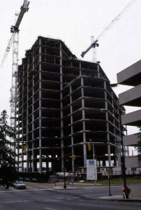 Under Construction as the Dominion Bank Headquarters (Source: Richmond Planning Commission Photo Database)